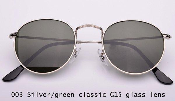 003 Silber / G15 Glaslinse