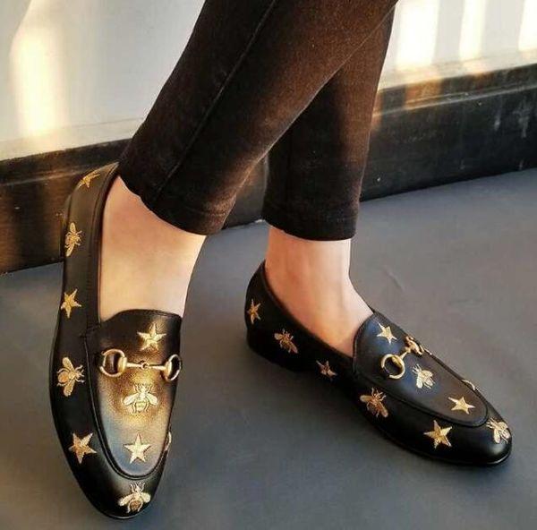 2019 Женщины Дизайнерская Обувь Роскошные Европейские Модные Слайды Натуральная Кожа Повседневная Обувь Мулов Высокое Качество