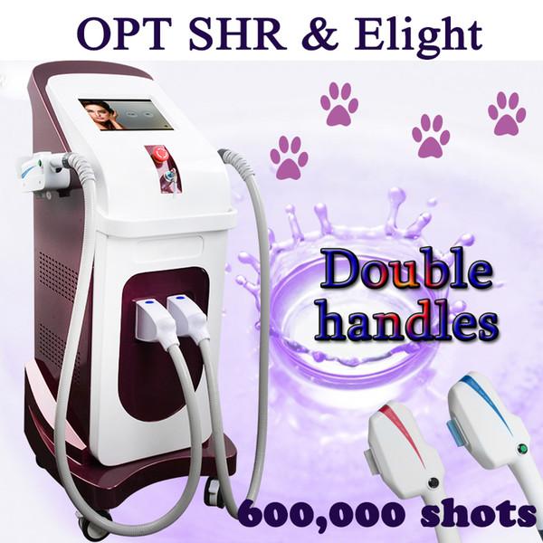OPT SHR Eligt Ipl Photofaical équipement de salon de beauté machines d'épilation au laser soins professionnels de la peau du visage