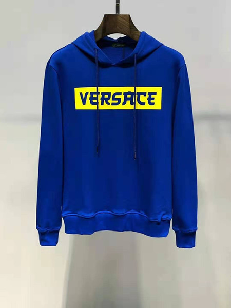 top popular Medusa Sweatshirt Winter Paris American Star Fashion Men's Sweatshirt Hoodie Long Sleeve Sweatshirt 2019