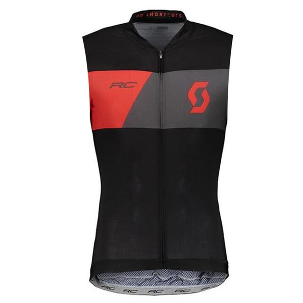 2019 SCOTT team Cycling Sleeveless jersey Vest Ropa Ciclismo quick dry cycling clothing mens summer bike Sports wear