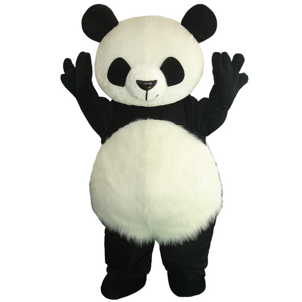 best selling Hot Selling Wholesale New Version Chinese Giant Panda Mascot Costume Christmas Mascot Costume Free Shipping