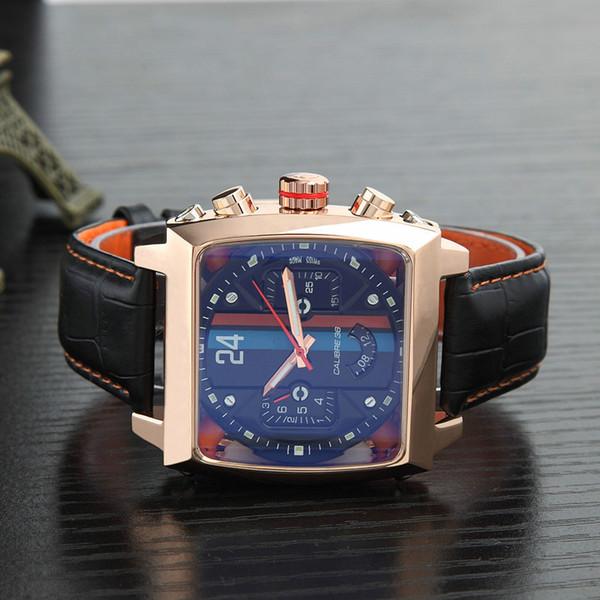 Reloj mecánico de alta calidad TAG multifunción deportivo de ocio para hombre.