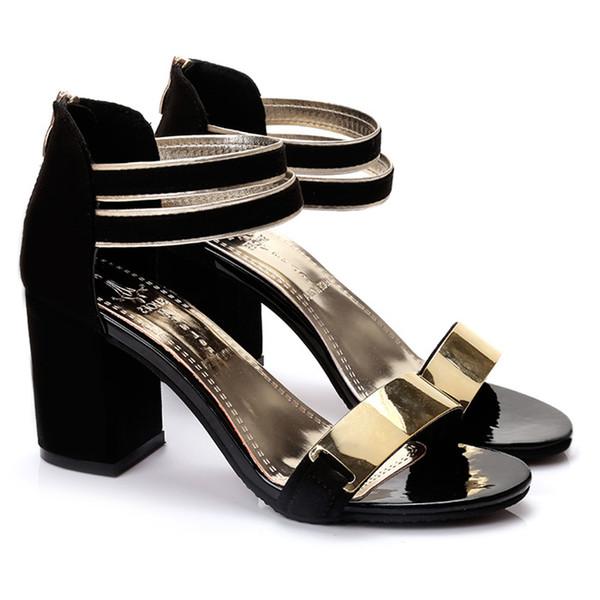 Cuadrado Gladiador Verano Zapatos 2019 Tobillo Fiesta Sandalias Mujer Compre Para Bling De Tacón Boda 1cTJ3lFK