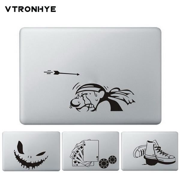 "Laptop Sticker Decal Skin For Apple Macbook Pro Air 13 11 15"" Cameraman Partial Vinyl Skin For Mac Book Pro 15 13 Laptop Skin T6190615"