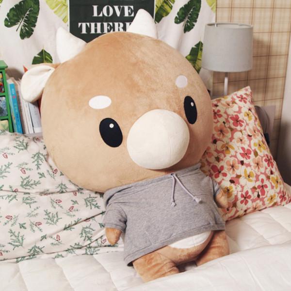 Cosa è sbagliato con il segretario Kim hard mucca peluche sveglio della Corea Idol amanti regalo dolce bambola cuscino per la fidanzata Parco Min Young giocattoli T191030