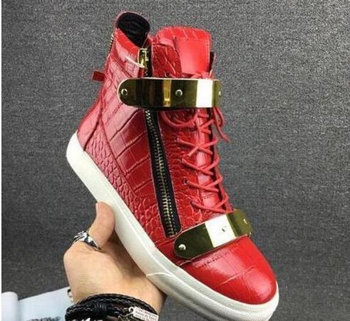 Итальянский бренд дизайнер мужской обуви Натуральная кожа женские кроссовки на платформе zapatos mujer scarpa chaussure Высокие кеды большой размер 35-47EUR