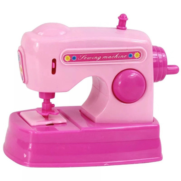 Vibrating Children's Mini Kitchen Toy Set Simulating Small Home Appliances Over Home Toys Mini Sewing Machine