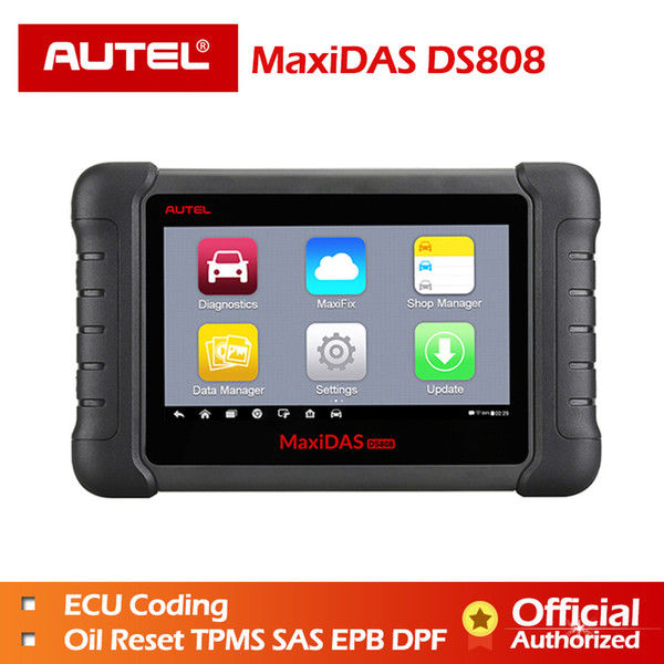 Autel MaxiDAS DS808 Full Systems OBDII Auto Diagnostic Scanner Online Update DS808 Car tool Same as like MS906 Free shipping