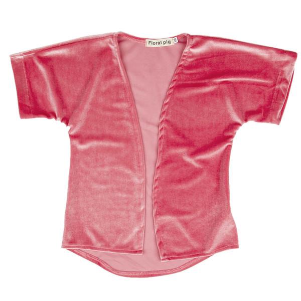 Kids Girl Cloak Coat Gold Velvet Cloak Jacket Baby Girl Designer Clothes Short Sleeve Solid Color Round Neck 19