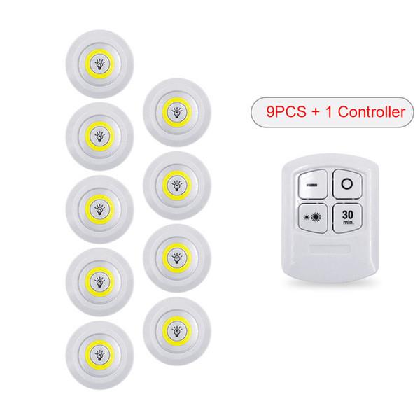 1 / contrôleur + 9 / lumière