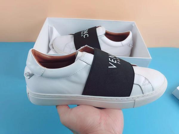 Acheter Meilleure Qualité Chaussures De Marque Pour Homme Femmes Fantaisie Low Top Cuir Véritable Semelle En Caoutchouc Été Hiver Designer Baskets