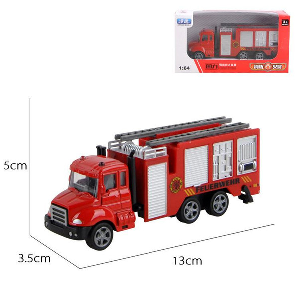 Fire Fighting Truck 1