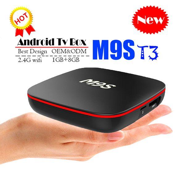 Best Android Box 2020.2020 Original M9s T3 Android Ott Smart Tv Box Allwinner H3 1gb 8gb Emmc Flash 4k Streaming Media Player Better Mxq Pro Tx3 X96 Mini S905w Best Android