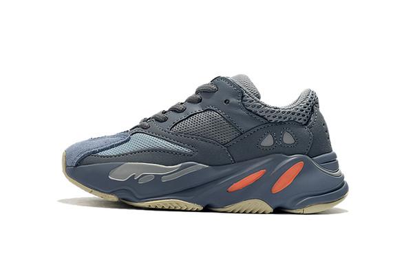 Adidas Yeezy 700 Venda quente Crianças Sapatos Wave Runner 700 Estilo Kanye West Tênis Menina Treinador Tênis Crianças Calçados Esportivos
