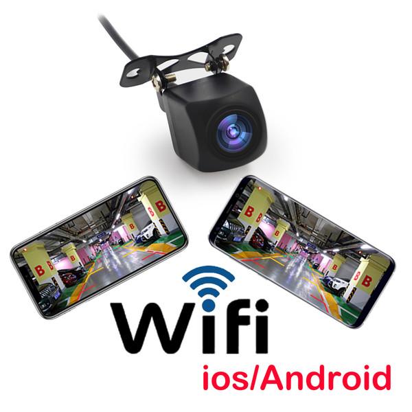 2019 H.624 gros APP chaude wifi voiture sans fil renversant la caméra de vue arrière HD vision nocturne pour téléphone portable Android iOS accessoires de voiture
