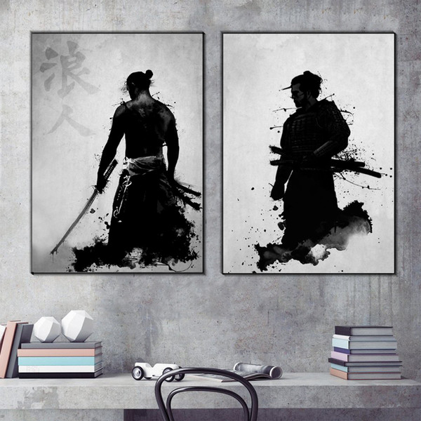 Art Painting Black And White