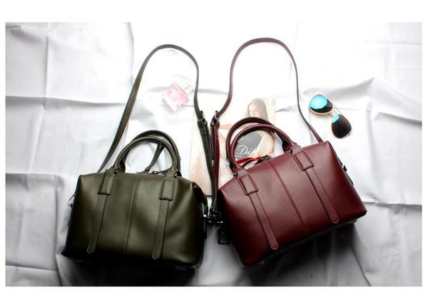 Hakiki deri yeni çanta bayan çanta ünlü Tasarımcı marka çanta çanta omuz tote Çanta kadın Küçük c.k dana Boston çanta taşınabilir