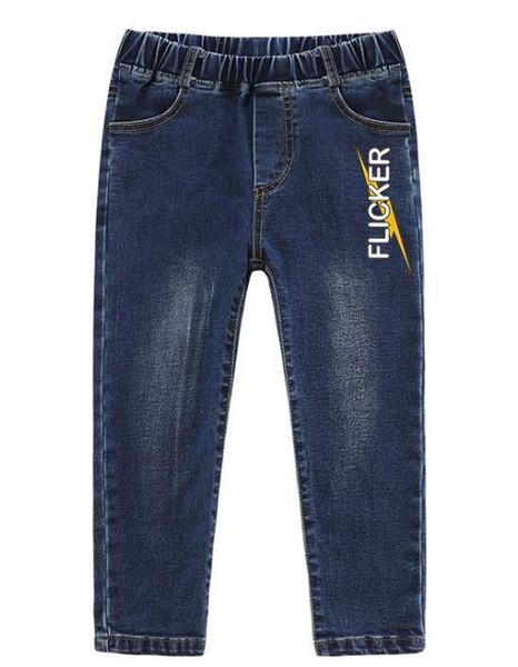 İlkbahar ve Sonbahar Yeni Kids'Dresses Boys'un Pantolon Boys'Trends Çocuk Elastik Pantolon Fabrikası En çok satan