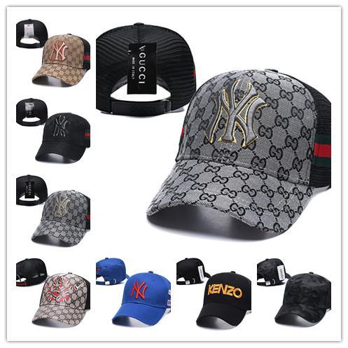 Yeni beyzbol şapkası, ördek dil kapağı, kore hip hop kap, erkek ve kadın NY logosu işlemeli kap