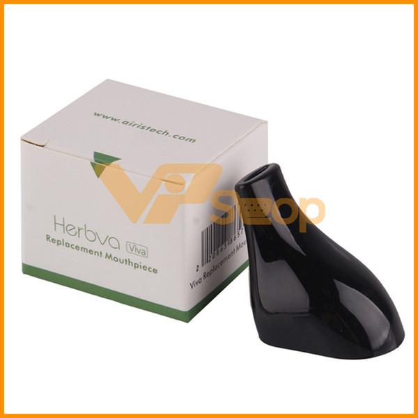 2018 Authentic AirisTech Herbva Viva Drip Tip Boccaglio di ricambio per Airis Herbva Viva Dry Herb Vaporizzatore Vape Pen Kit 100% genuino