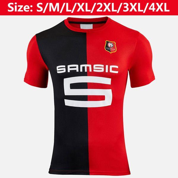 Thaïlande maillot de football Stade Rennais 2019 2020 maillot de football Babacar Hunou Sarr Arfa 19 20 maillots homme Stade Rennais