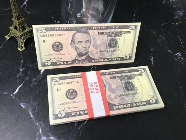 5 Dolars (100pcs)