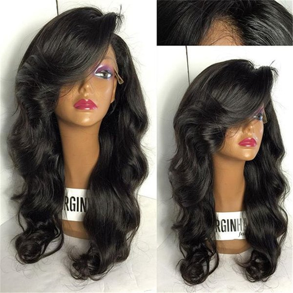 Lace Front Wigs Pre Plucked With Baby Hair Full Brazilian Body Wave Human Hair Lace Front long Wigs For Black Women
