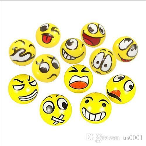jumbo squishy Funny Emoji Face Squeeze Balls Modern Stress Ball Relax Emotional Hand Wrist Exercise Stress Balls Toys Stress