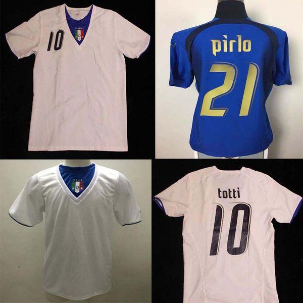 2006 ITALIA 1990 Home Away WORLD CUP RETRO MENS T SHIRT FOOTBALL SOCCER SPORT 90 ITALY MALDINI ANCELOTTI BARESI BAGGIO DONADONI