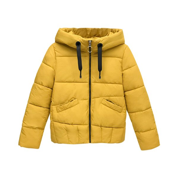 Wholesale fashion women short paragraph new autumn and winter student cotton coat size XS-XL