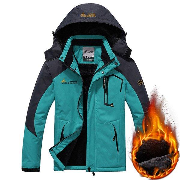 Cyan Blue Jacket