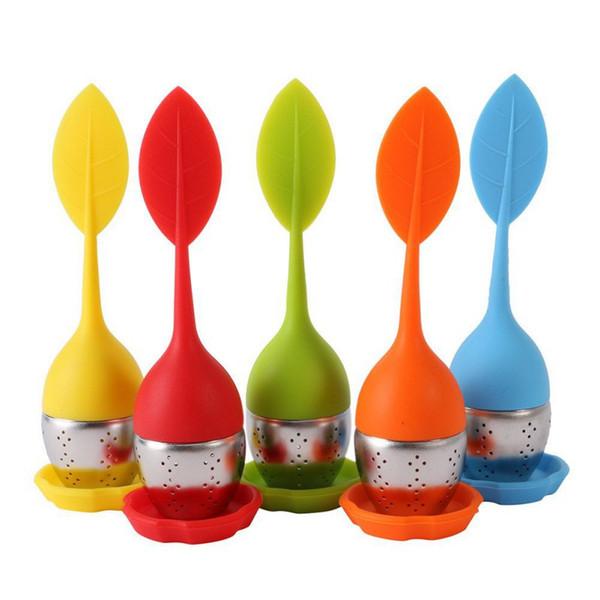 Strawberry Tea Infuser Edelstahl Tee Ball Blatt Teesieb für Braugerät Kräutergewürz Filter Küche Werkzeuge
