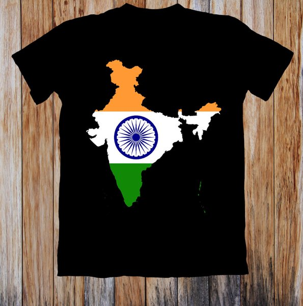 Indian Map Flag Uni T Shirt High Quality Custom Printed Tops Hipster on map gift, map sweatshirt, map pr, map ping, map design, map strip, map clothing, map bg, map pants, map id, map scarf, map shoes, map key, map test, map art, map white, map black, map banner,