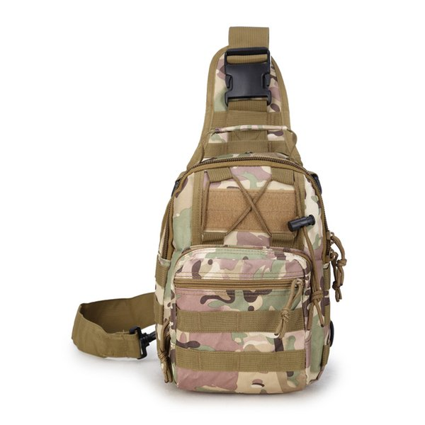 1PCS New Outdoor Bodypack Men's Messenger Bag Casual Sports Camouflage Wind Riding Waterproof Small Chest Bag