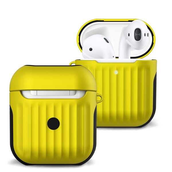 2 in 1 Non-slip Silicone Case Cover For AirPods 1 2 Wired Charging Box Cover Dirt-resistant High Quality