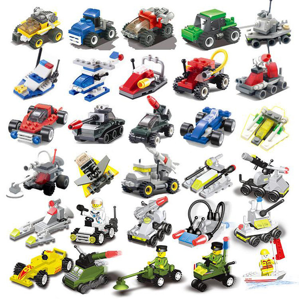 best selling Mini toys small particles assembled military small blocks Aircraft tanks building block Children's toys kindergarten gifts educational toy