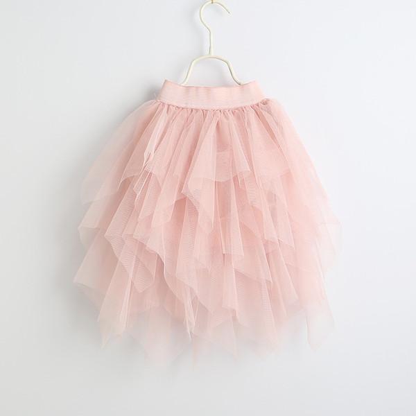 Vieeoease Girls Skirt Kids Clothing 2019 Spring Fashion Lace Tutu Tulle Skirt Princess Cake Skirt CC-332
