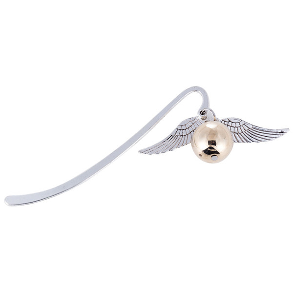 best selling Gold Best Gift for Reader Snitch Harry Bookmark Charm Bookmark - Harry Potter Bookmark Gift
