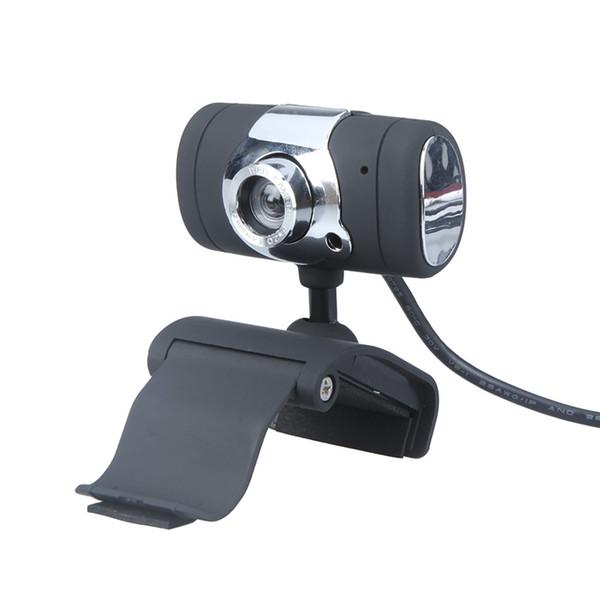 USB 2.0 50.0M HD Webcam Camera Web Cam with Microphone MIC for Desktop Laptop Black 360 Degree Webcam USB2.0 For Skype Computer