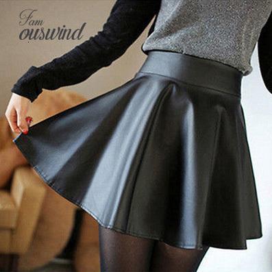 2019 new women slim pu skirt high waist skirts short mini skirt party faux leather good quality drop shipping