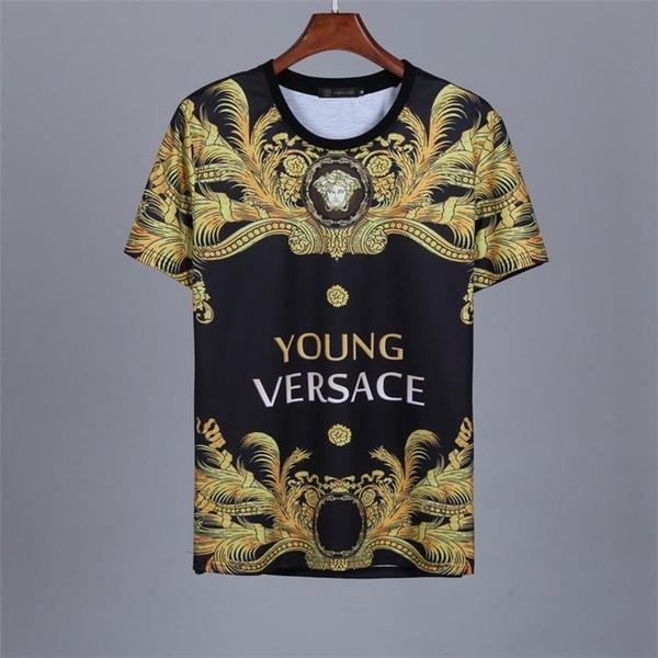 High End Erkekler Tasarımcı Yaz Pamuk Kısa Kollu Tişörtleri Gençlik Moda Rahat T-Shirt Dikiş Baskılı Kısa Kollu