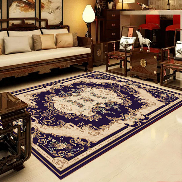European Style Carpets For Living Room Big Area Decoration Carpet Rugs For  Bedroom Soft House Door Mat Printing Rugs And Carpets Interface Carpet ...