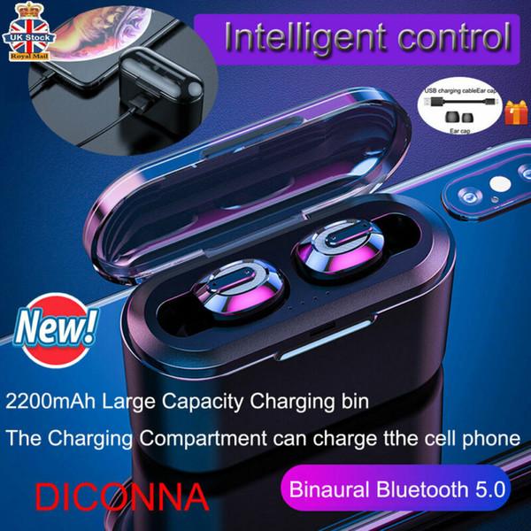 Bluetooth 5.0 casque Mini TWS Twins casque sans fil stéréo écouteurs écouteurs