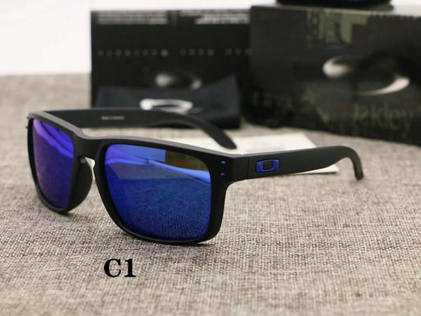 Поляризованные очки мужчинOakleyКлассический вождения солнцезащитные очки HD Cолнцезащитные очки Защита от ультрафиолетовых лучей моды класса люкс Велоспорт солнцезащитные очки