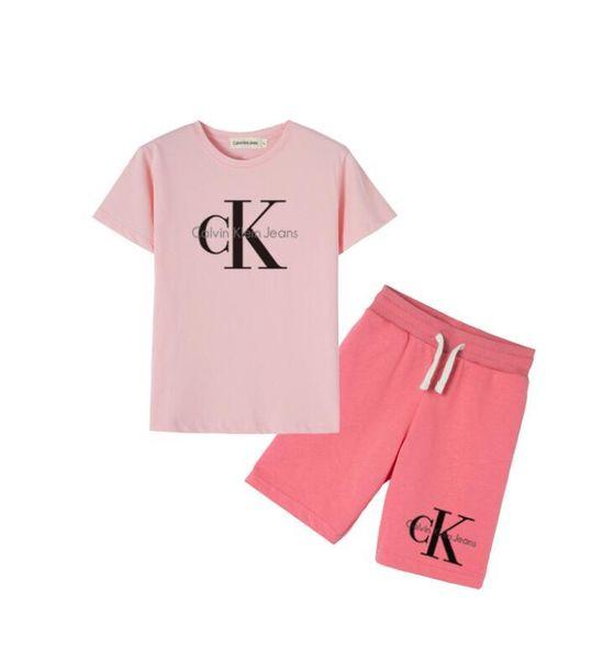 TR06 Kinder T-Shirt Shorts Jungen Baumwollhemd Kinder Sportswear Basketball Set 2 Stück Set / Kurzarm Beach Bikini Free