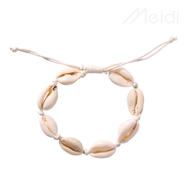 2019 cross-border hot hot style popular European and American fashion conch ocean series shell necklace bracelet set