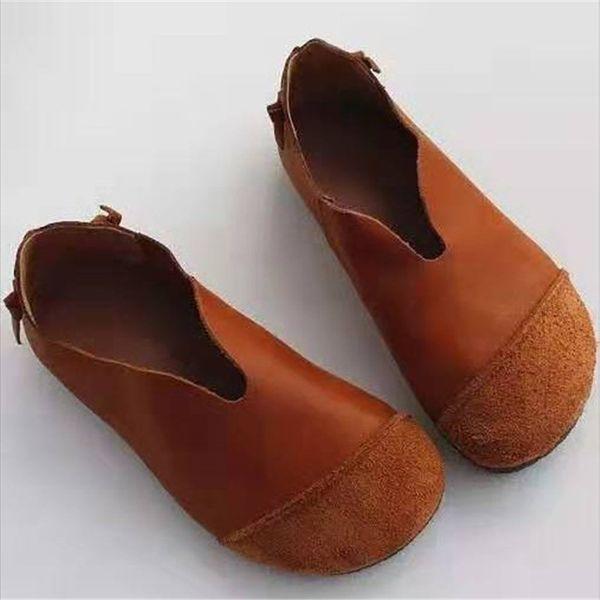 xiniu ayakkabı kadın Yuvarlak Burun platform ayakkabı Sahte Süet Casual sonbahar makosenler kadınlar Rahat Hafif Tek Ayakkabı # 0724