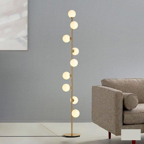 Moderna casa deco apparecchi di illuminazione luci di vetro LED soggiorno in piedi apparecchi di illuminazione da comodino camera da letto lampade da terra 90-260V