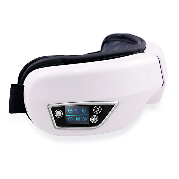 Vibração elétrica Bluetooth Olho Massageador Dispositivo de Olho Fadiga de Rugas Massagem Vibração Compressa Quente Óculos T190712